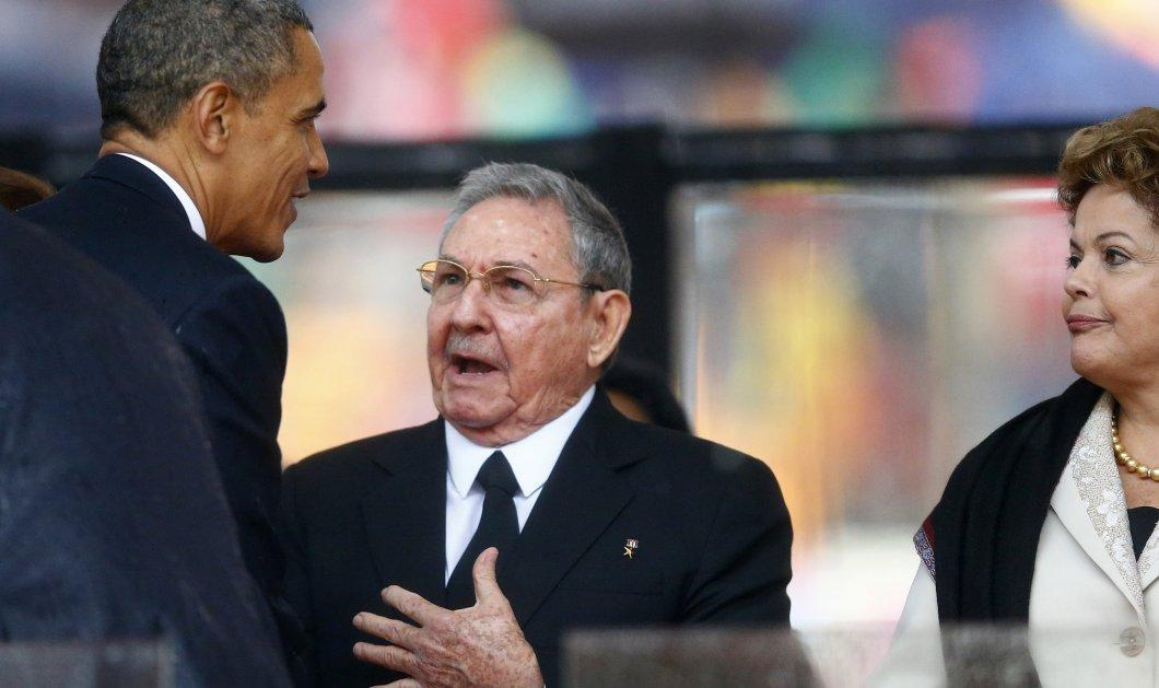 Τηλεφωνική επικοινωνία είχαν Ομπάμα - Κάστρο πριν την ιστορική τους συνάντηση! - Κυρίως Φωτογραφία - Gallery - Video