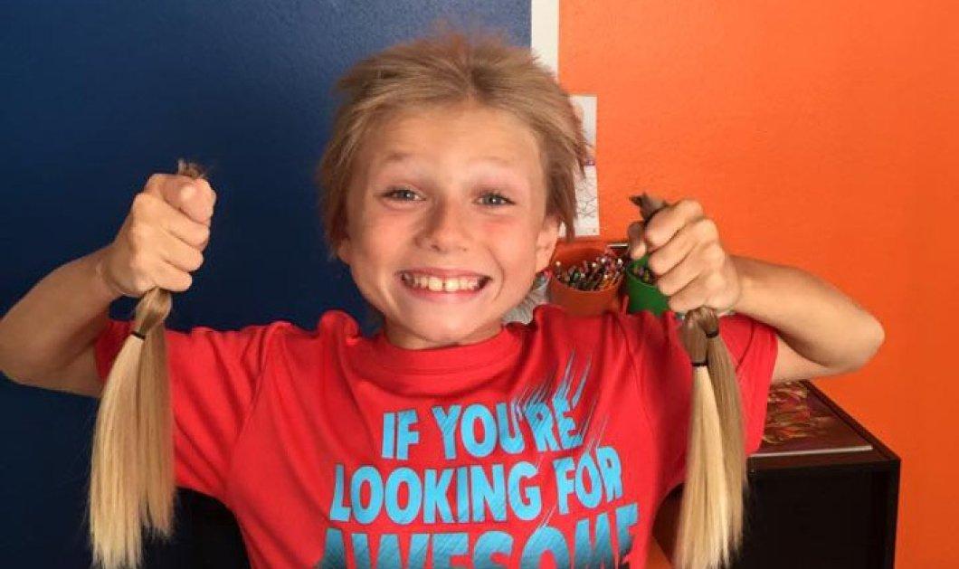 Story: 8χρονος έδωσε τα ξανθά μαλλιά του για τους καρκινοπαθείς, αλλά υπέφερε από το bullying - Κυρίως Φωτογραφία - Gallery - Video