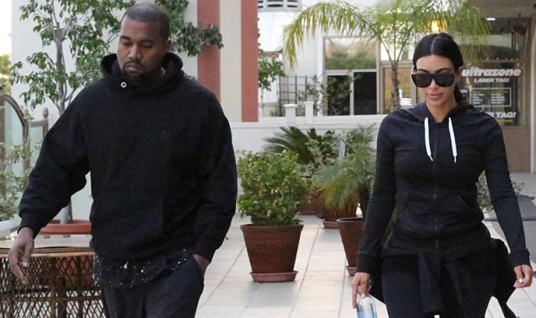Στα πρόθυρα χωρισμού η Kim Kardashian & o Kanye West: Έβαλαν τις φόρμες τους & έδειξαν χαλαροί αλλά δεν... - Κυρίως Φωτογραφία - Gallery - Video