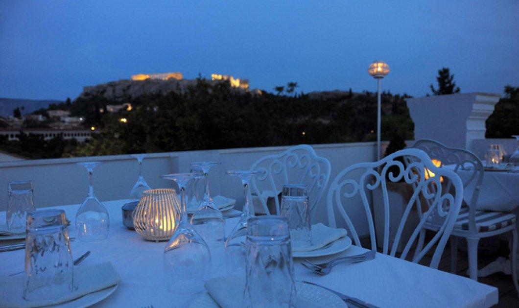 Kuzina: Το εστιατόριο με την καλύτερη θέα του κόσμου, δημιούργημα του Άρη Τσανακλίδη! - Κυρίως Φωτογραφία - Gallery - Video