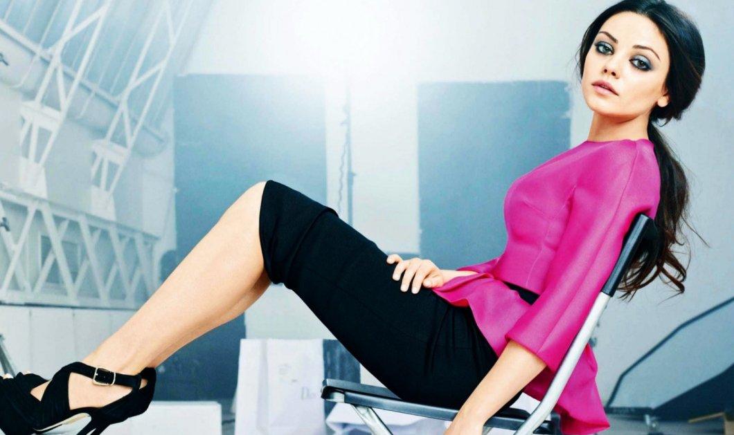 "Mila Kunis: «Έτσι έχασα στο ""άψε-σβήσε"" τα κιλά της εγκυμοσύνης μου!» - Κυρίως Φωτογραφία - Gallery - Video"