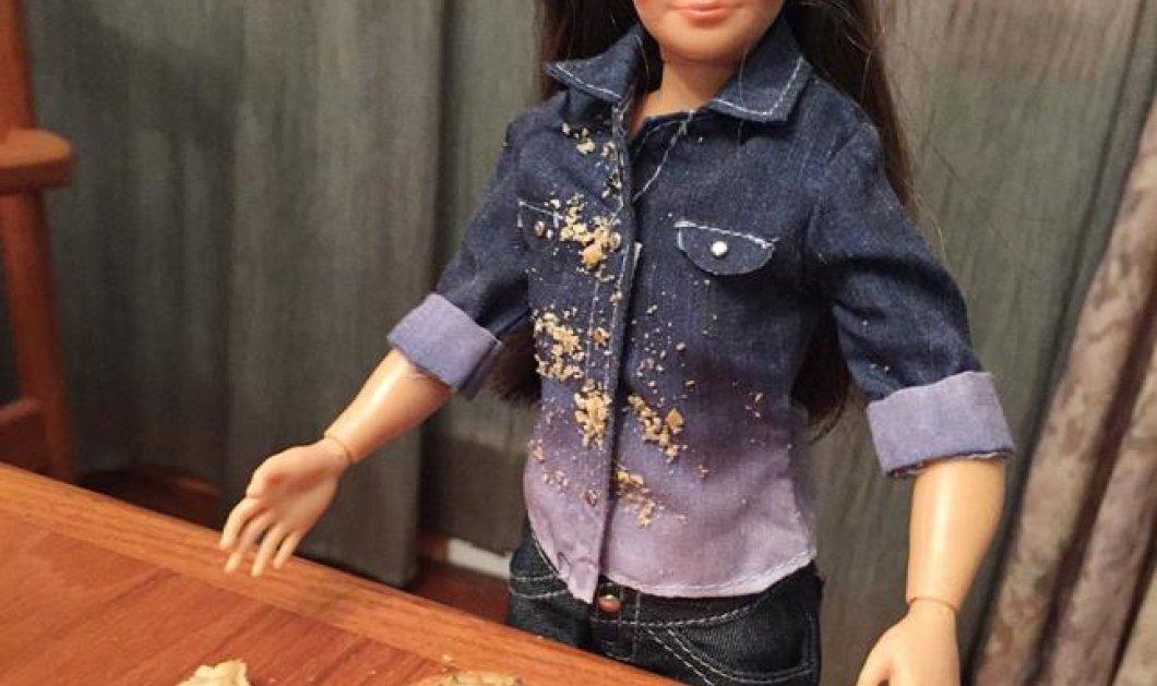 Ζήτω η νέα Barbie! Έχει κανονικές αναλογίες, ίσως ακμή, τατουάζ & κάνει σπορ! Τη λένε Lammily & νάτην σε φωτό! - Κυρίως Φωτογραφία - Gallery - Video