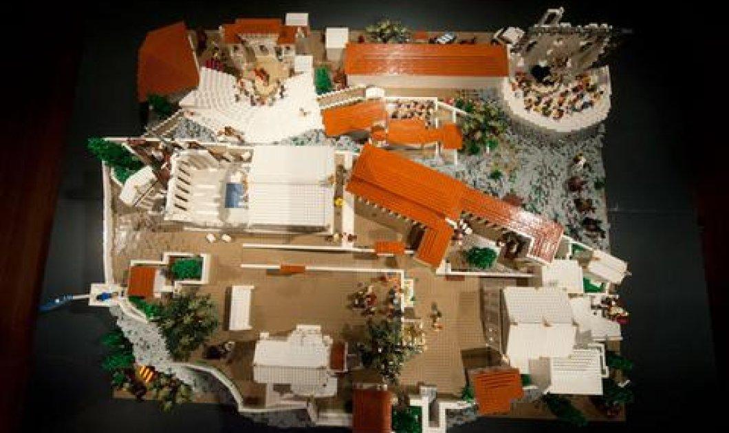 Good News: Μία Ακρόπολη κατασκευασμένη από... Lego στο Μουσείο της Ακρόπολης! (φωτό) - Κυρίως Φωτογραφία - Gallery - Video