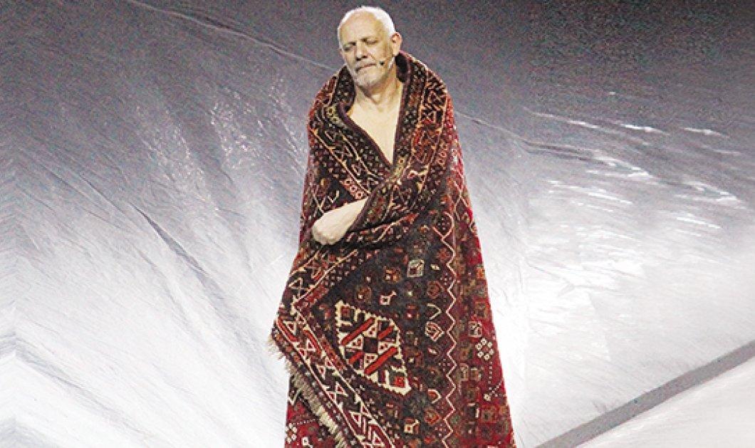 Ο Βασιλιάς Ληρ δηλαδή ο Γιώργος Κιμούλης ολόγυμνος - Μαζί του οι κορυφαίες Κόρα Καρβούνη & Στεφανία Γουλιώτη σε μια ιστορική παράσταση! - Κυρίως Φωτογραφία - Gallery - Video