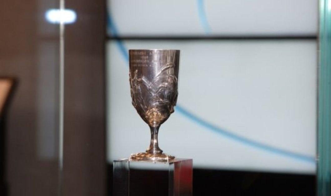 Good News: Στο Μουσείο της Ακρόπολης επιστρέφει από τις 18 Μαρτίου το ασημένιο κύπελλο του Σπύρου Λούη  - Κυρίως Φωτογραφία - Gallery - Video