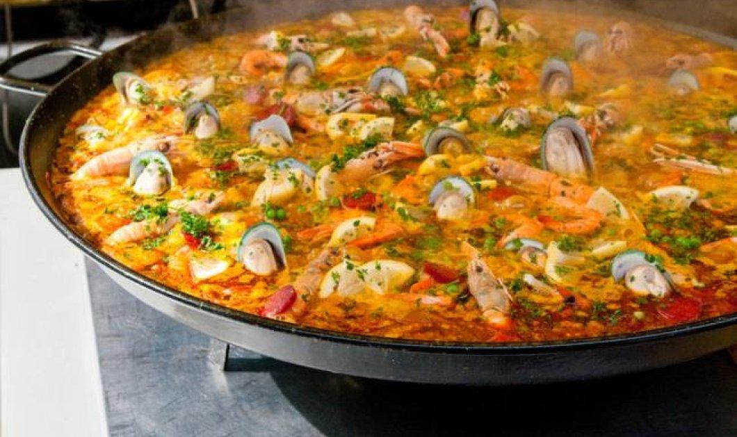 Ο Γιάννης Λουκάκος μας μυεί στην ισπανική κουζίνα: Πεντανόστιμη & αυθεντική βαλεντσιάνικη παέγια με... κρόκο Κοζάνης! - Κυρίως Φωτογραφία - Gallery - Video