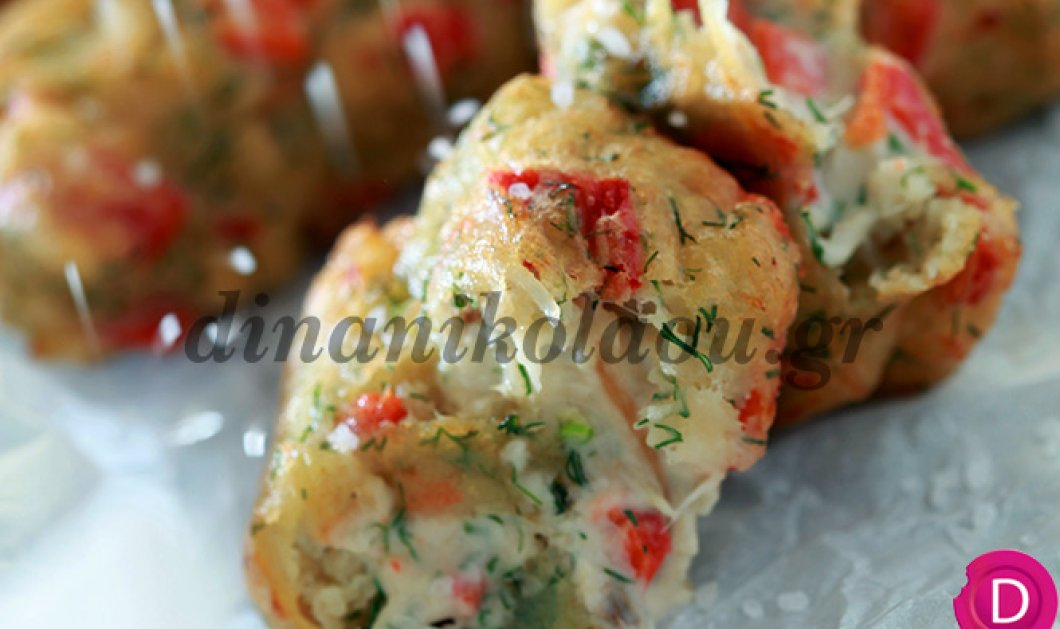 Οι πιο γευστικοί & αφράτοι μπακαλιαρολουκουμάδες από τη σεφ Ντίνα Νικολάου! Μούρλια! - Κυρίως Φωτογραφία - Gallery - Video