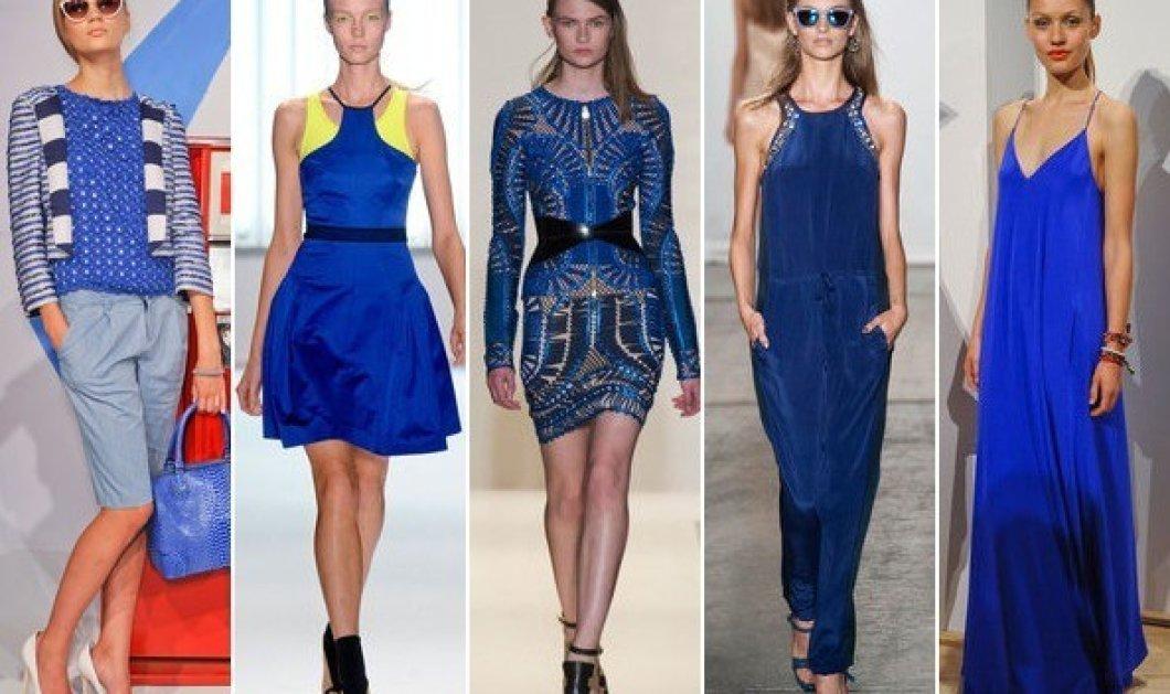 64 τρόποι για να φορέσετε όλες τις αποχρώσεις του μπλε - Φανταστικές ιδέες με την υπογραφή της Vogue - Κυρίως Φωτογραφία - Gallery - Video