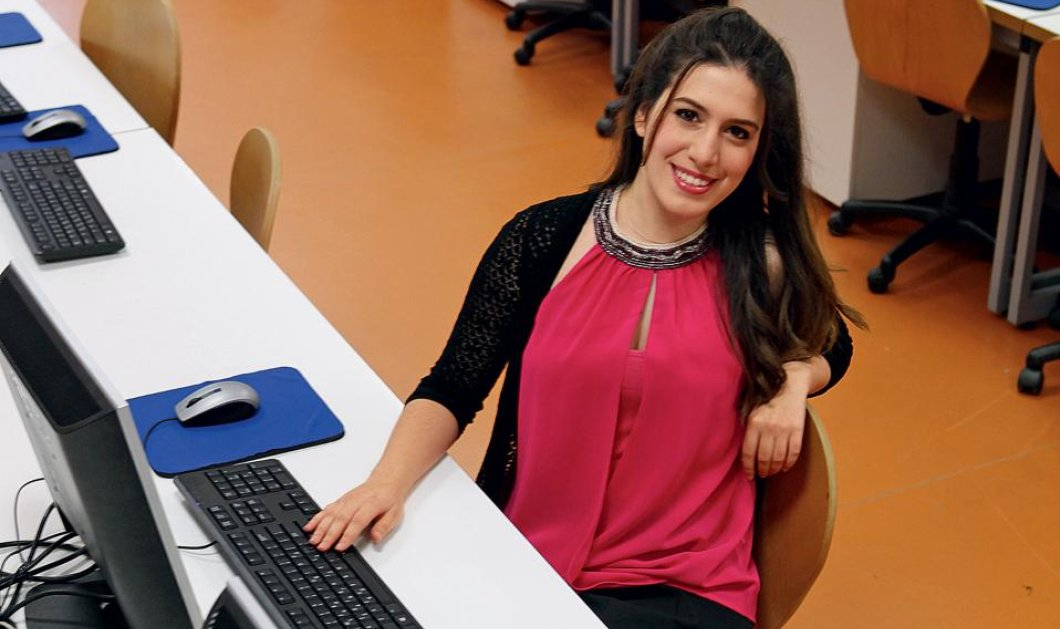 Top Woman η Μαρία Δημακοπούλου: Η 23χρονη αριστούχος απόφοιτος του ΕΜΠ έτοιμη να πάρει τα κλειδιά της... Google! - Κυρίως Φωτογραφία - Gallery - Video