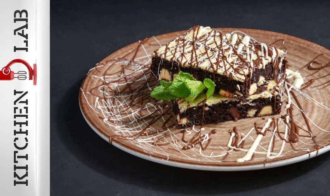 Αυτό το γλυκό θα σας ξετρελάνει! Brownies Cheesecake από τον μοναδικό Άκη Πετρετζίκη (ΒΙΝΤΕΟ) - Κυρίως Φωτογραφία - Gallery - Video