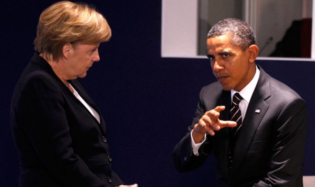 Συνάντηση Ομπάμα-Μέρκελ στον Λευκό Οίκο με θέμα τον... Αλέξη Τσίπρα! - Κυρίως Φωτογραφία - Gallery - Video