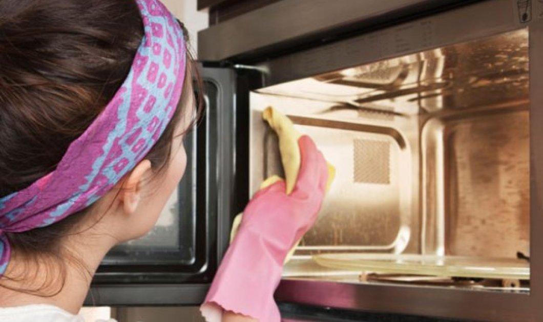 Ιδού πώς να καθαρίσετε των φούρνο μικροκυμάτων σας εύκολα & γρήγορα - Κυρίως Φωτογραφία - Gallery - Video