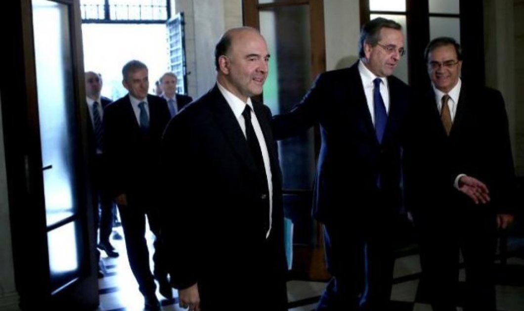 Π. Μοσκοβισί: «Δεν υπάρχει Grexit - Η Ελλάδα χρειάζεται την Ευρώπη και αντίστροφα» - Κυρίως Φωτογραφία - Gallery - Video
