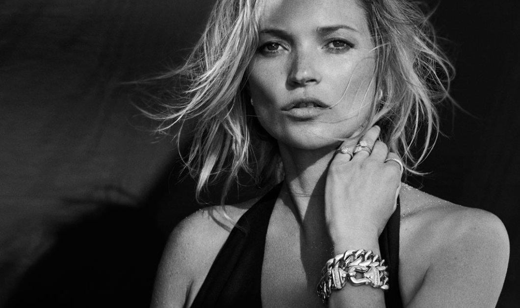 Άνω κάτω ολόκληρη πτήση έκανε η Kate Moss - Την έβγαλαν συνοδεία αστυνομικών - Κυρίως Φωτογραφία - Gallery - Video