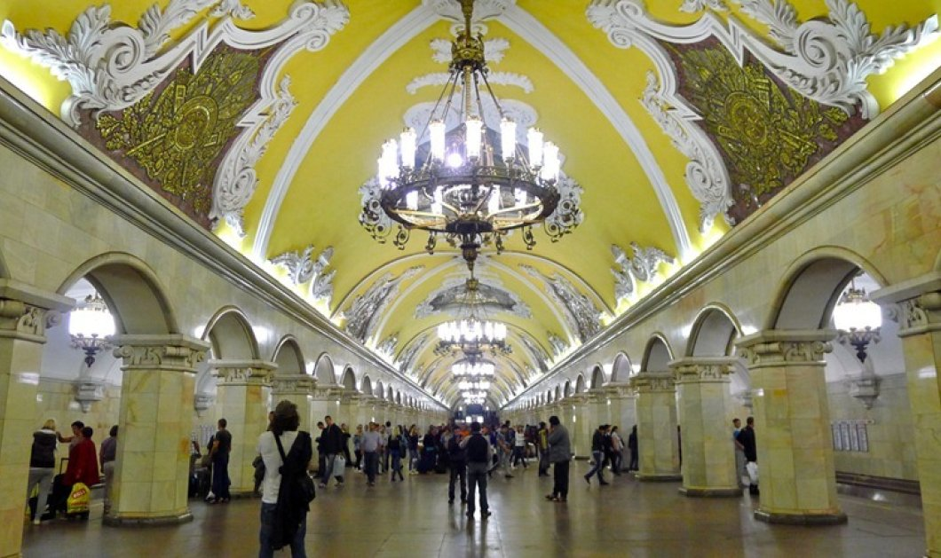 Περιπετειώδες ζευγάρι έκανε έρωτα στις ράγες του μετρό της Μόσχας - Πάγωσαν όσοι είδαν το θέαμα! - Κυρίως Φωτογραφία - Gallery - Video