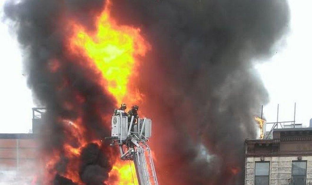 Κατέρρευσε κτίριο στη Νέα Υόρκη μετά από ισχυρή έκρηξη - ''Θρίλερ'' με τον αριθμό των τραυματιών! (Φωτό - βίντεο) - Κυρίως Φωτογραφία - Gallery - Video