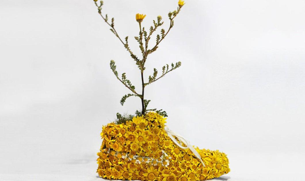Τα πιο περίεργα Nike που έχετε δει ποτέ: Μοιάζουν με μικρούς κήπους, ή με γλαστρούλες αφού ο δημιουργός τους, στέλνει το μήνυμα: «Just Grow It»! - Κυρίως Φωτογραφία - Gallery - Video