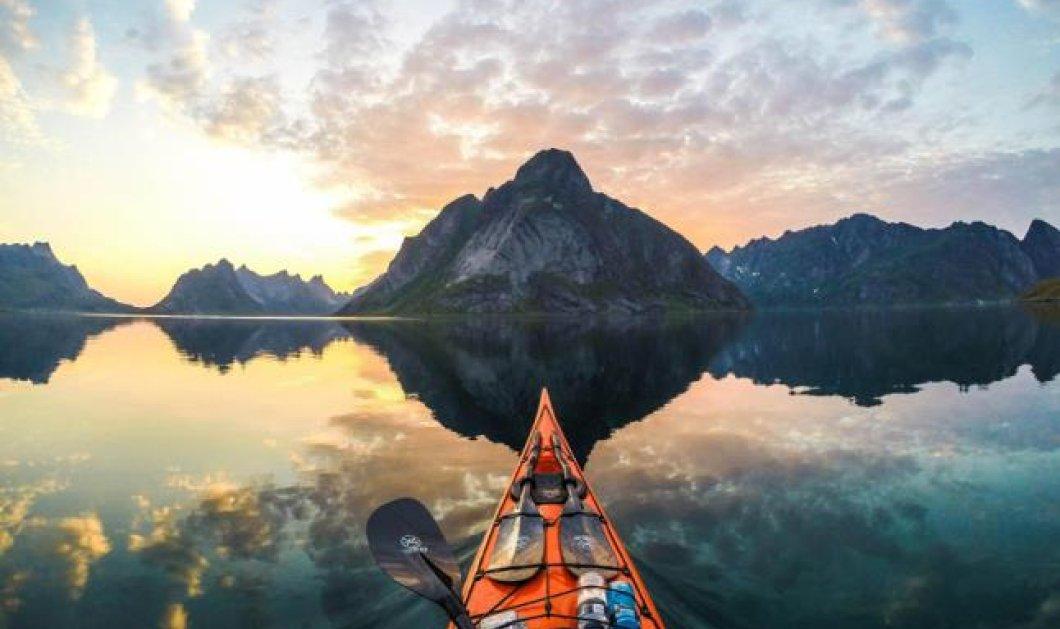 Πάμε να γνωρίσουμε σπιθαμή προς σπιθαμή κάθε απόκρυφη γωνιά της μαγευτικής Νορβηγίας πάνω σε ένα καγιάκ! Μοναδικό θέαμα! (Φωτό) - Κυρίως Φωτογραφία - Gallery - Video