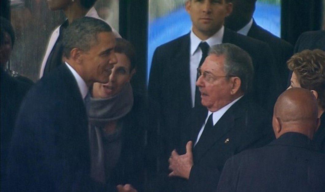 Ιστορική συμφιλίωση ΗΠΑ-Κούβας μισό αιώνα μετά! Προσωπική επικοινωνία Μ. Ομπάμα & Ρ. Κάστρο! - Κυρίως Φωτογραφία - Gallery - Video