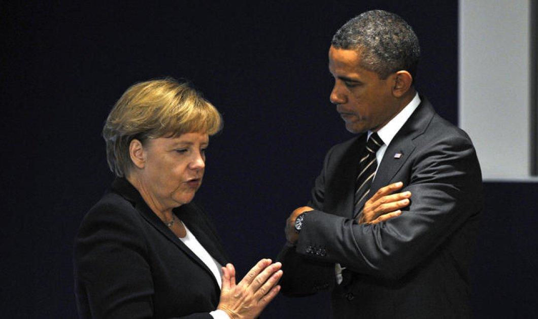 """Έκτακτο τηλεφώνημα Ομπάμα σε Μέρκελ: """"Κάντε ρεαλιστική συμφωνία με την Ελλάδα"""" - Κυρίως Φωτογραφία - Gallery - Video"""