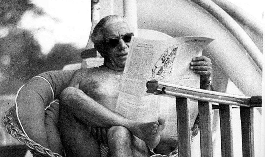 Μηχανή του Χρόνου - Ο βιογράφος του Ωνάση απαντά: ''Η Τζάκι φωτογράφισε τον Αρίστο γυμνό και διοχέτευσε την φωτό σε περιοδικό''! (φωτό) - Κυρίως Φωτογραφία - Gallery - Video