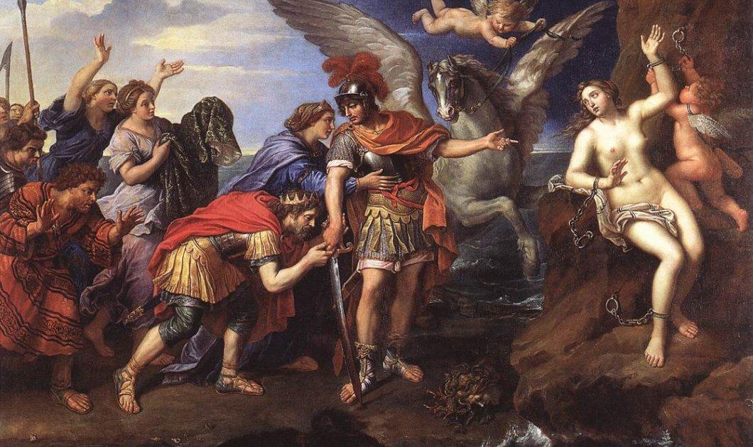 Greek Mythos: Όταν η Ανδρομέδα αγάπησε τον Περσέα, εκείνος πέτρωσε τον αρραβωνιαστικό της για να την παντρευτεί - Κυρίως Φωτογραφία - Gallery - Video