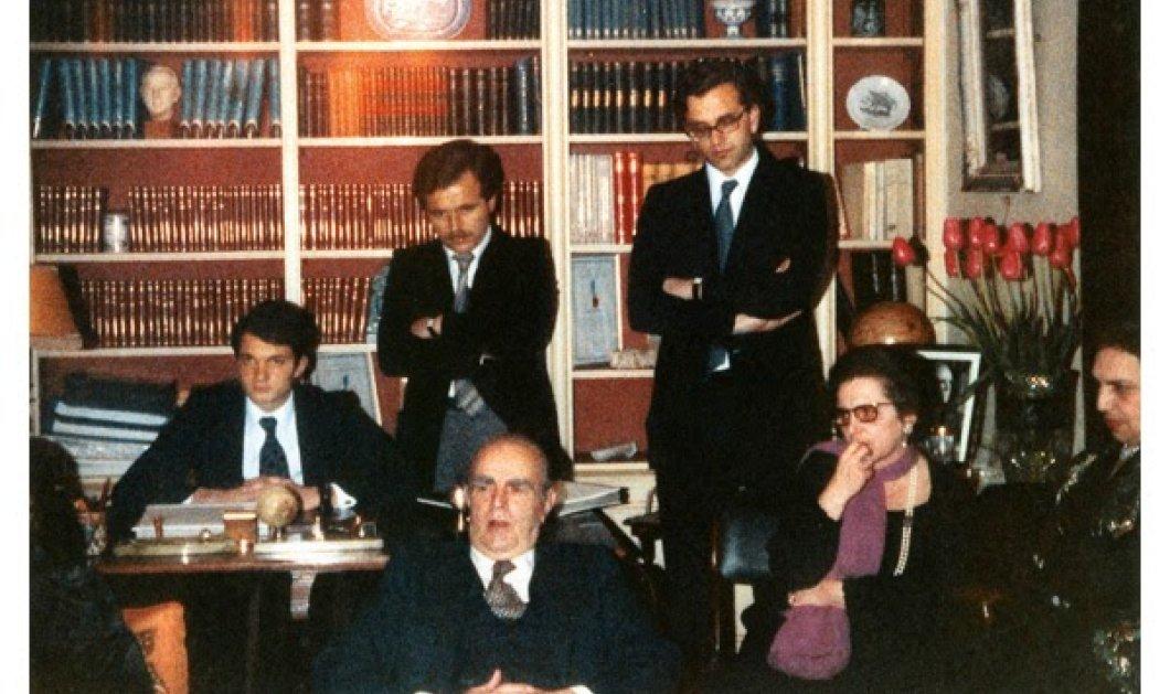 Vintage Beauty Pic: Πολύ σπάνια φωτογραφία με τον Κωνσταντίνο Καραμανλή την αδελφή του και δύο νεαρούδια: Όρθιος ο νυν & καθιστός ο τέως πρόεδρος της ΝΔ! - Κυρίως Φωτογραφία - Gallery - Video