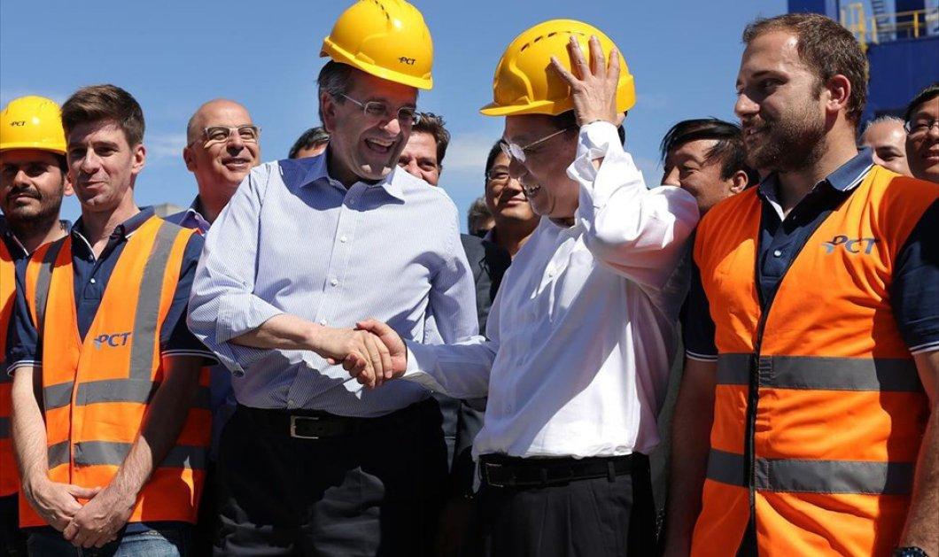 Πρωθυπουργός της Κίνας: «Θέλουμε να συνδεθούμε με τα Βαλκάνια & την Ευρώπη μέσω Πειραιά - Έρχονται μεγάλα κέρδη για την Ελλάδα» - Κυρίως Φωτογραφία - Gallery - Video