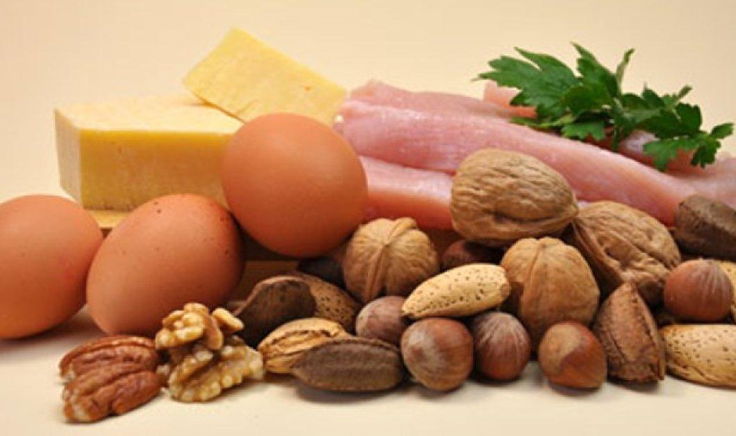 Προτιμήστε τις δίαιτες που είναι πλούσιες σε πρωτεΐνη - Μηδενίζουν το κίνδυνο της αρτηριακής πίεσης - Κυρίως Φωτογραφία - Gallery - Video