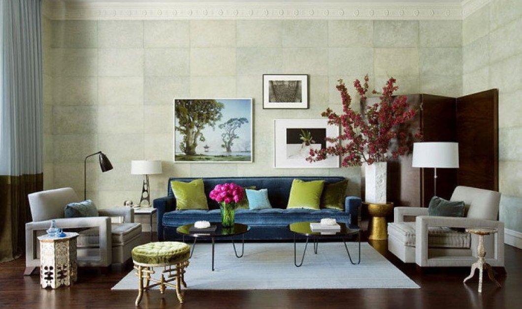 Βάλτε την άνοιξη στο σαλόνι σας με αυτές τις 15 ιδέες διακόσμησης που θα ανανεώσουν το σπίτι σας! - Κυρίως Φωτογραφία - Gallery - Video
