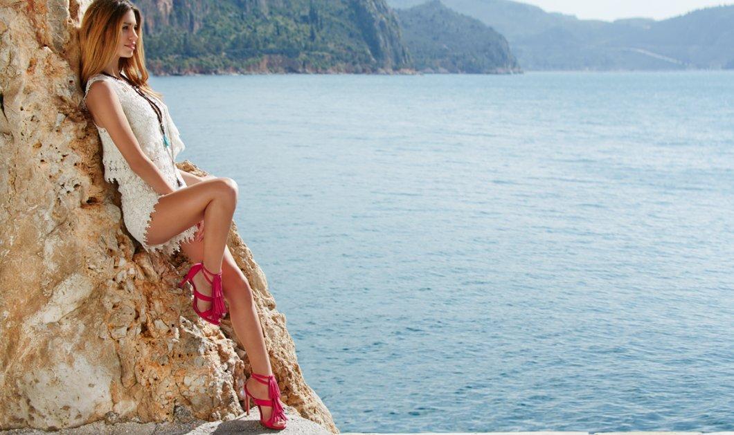 Made In Greece τα εντυπωσιακά πέδιλα Sante με εξωτικά χρώματα και σέξυ σχέδια - Κυρίως Φωτογραφία - Gallery - Video