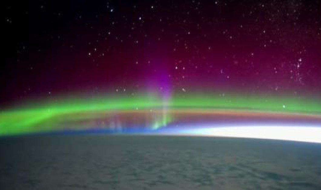 Το βίντεο της ημέρας: Πώς φαίνεται το Βόρειο Σέλας από τον Διεθνή Διαστημικό Σταθμό - Σκέτη μαγεία! - Κυρίως Φωτογραφία - Gallery - Video