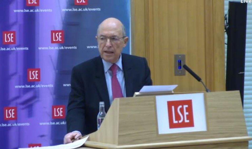 Κώστας Σημίτης από Λονδίνο: ''Δεν είναι ρεαλιστική η προοπτική των 180 ψήφων - Πάμε για εκλογές'' - Κυρίως Φωτογραφία - Gallery - Video