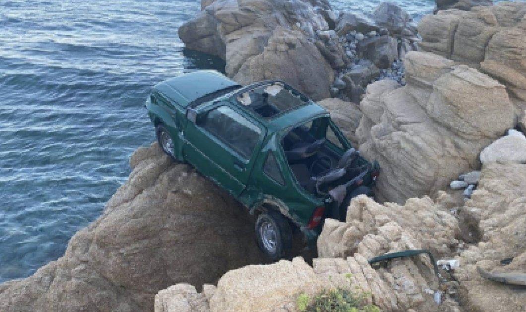 Τραγωδία στη Μύκονο: Στο γκρεμό έπεσαν δύο αυτοκίνητα - Νεκρή μια 18χρονη Ιταλίδα (φωτό) - Κυρίως Φωτογραφία - Gallery - Video