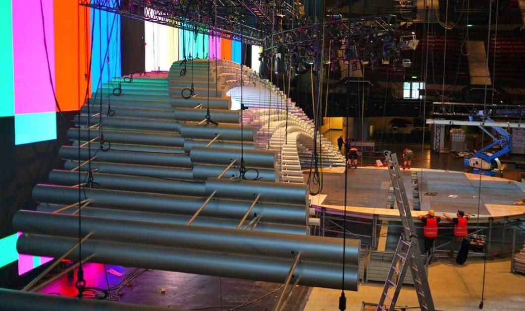 Eurovision 2015: Αυτές είναι οι πρώτες εικόνες από τη σκηνή του μεγάλου τελικού! - Κυρίως Φωτογραφία - Gallery - Video