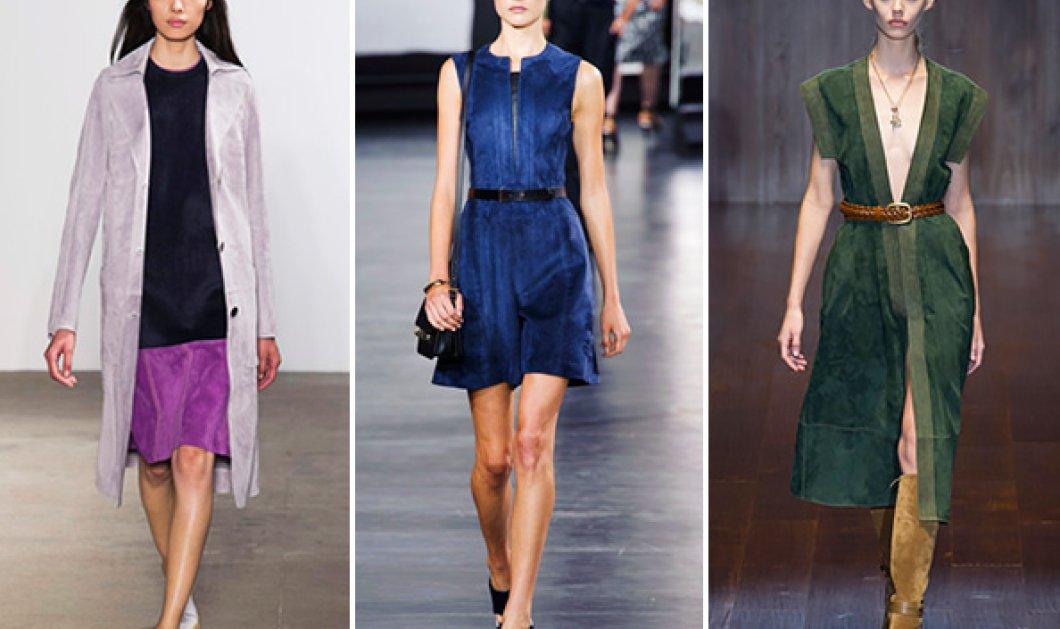 9 φανταστικές ιδέες για να φορέσεις τα suede το καλοκαίρι - Το απόλυτο trend της σεζόν σύμφωνα με την Vogue - Κυρίως Φωτογραφία - Gallery - Video
