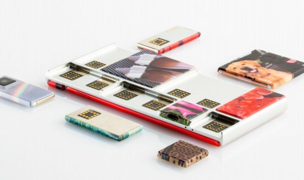 Αυτό είναι το συναρμολογούμενο Smartphone της Google - Το λένε Spiral - Κυρίως Φωτογραφία - Gallery - Video