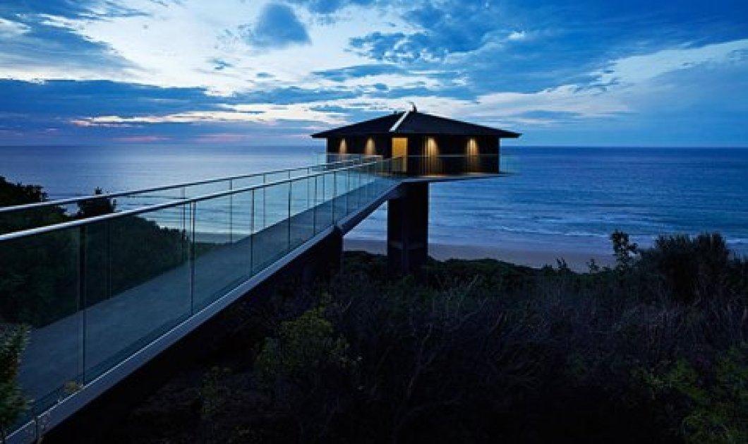 Ένα σπίτι κυριολεκτικά πάνω από τη θάλασσα - Απολαύστε το αρχιτεκτονικό διαμάντι της Αυστραλίας (φωτό) - Κυρίως Φωτογραφία - Gallery - Video