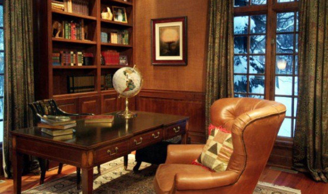 16+16 ιδέες διακόσμησης για το ιδανικό γραφείο μέσα στο σπίτι: 16 κατάλληλα καταπληκτικά για τον άνδρα & 16 με θηλυκή ατμόσφαιρα και γυναικείο touch!  - Κυρίως Φωτογραφία - Gallery - Video