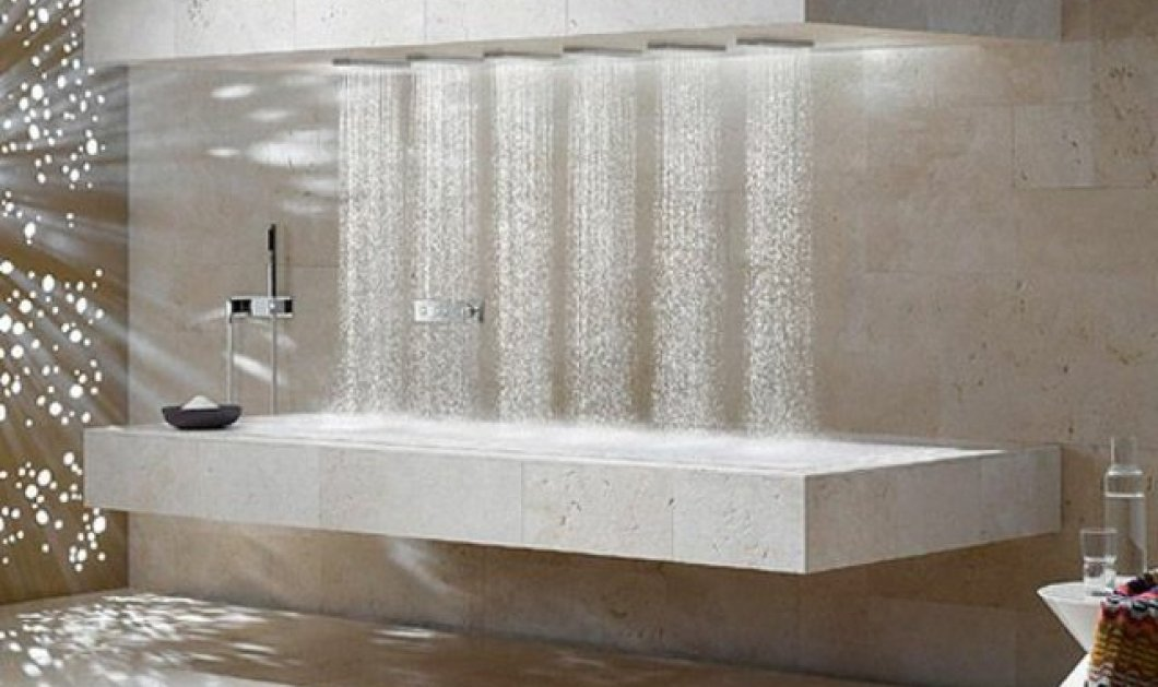 Τα πιο πρωτότυπα μπάνια που έχετε φανταστεί: Ολόκληρες τουαλέτες από Swarowski, ενσωματωμένη οθόνη τηλεόρασης σε στρογγυλή μπανιέρα, σάουνα ή τζάκι πλάι σας... (Φωτό)  - Κυρίως Φωτογραφία - Gallery - Video