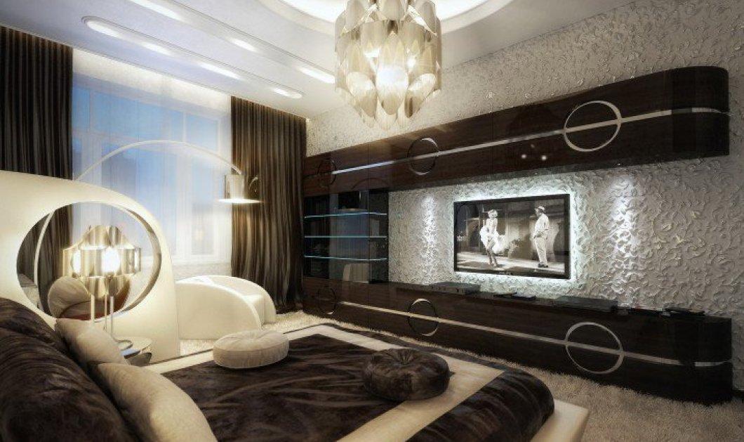 """18 εκθαμβωτικά διαφορετικά ταβάνια σε 18 κρεβατοκάμαρες  για να κοιμάστε κοιτάζοντας τον """"ουρανό"""" για έναν ύπνο με ωραία όνειρα! (Slideshow) - Κυρίως Φωτογραφία - Gallery - Video"""