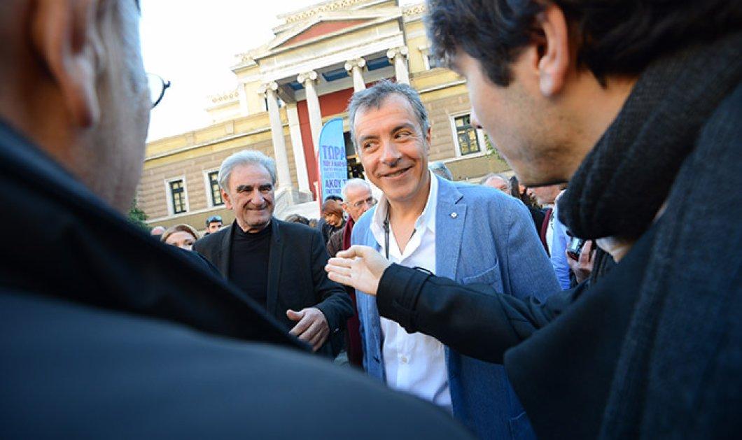 Θεοδωράκης-Λυκούδης ανακοίνωσαν συνεργασία: ''Να κάνουμε μια συνομωσία του καλού για να σώσει τη χώρα'' ! - Κυρίως Φωτογραφία - Gallery - Video