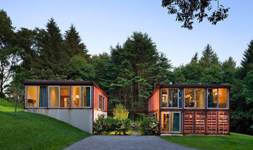 Καλημέρα - 15 εντυπωσιακά σπίτια ''κοντέινερ'' με ξεχωριστό design που σίγουρα θα σας ξετρελάνουν - Μεζονέτες, με κήπο, στο βουνό, στην θάλασσα! - Κυρίως Φωτογραφία - Gallery - Video