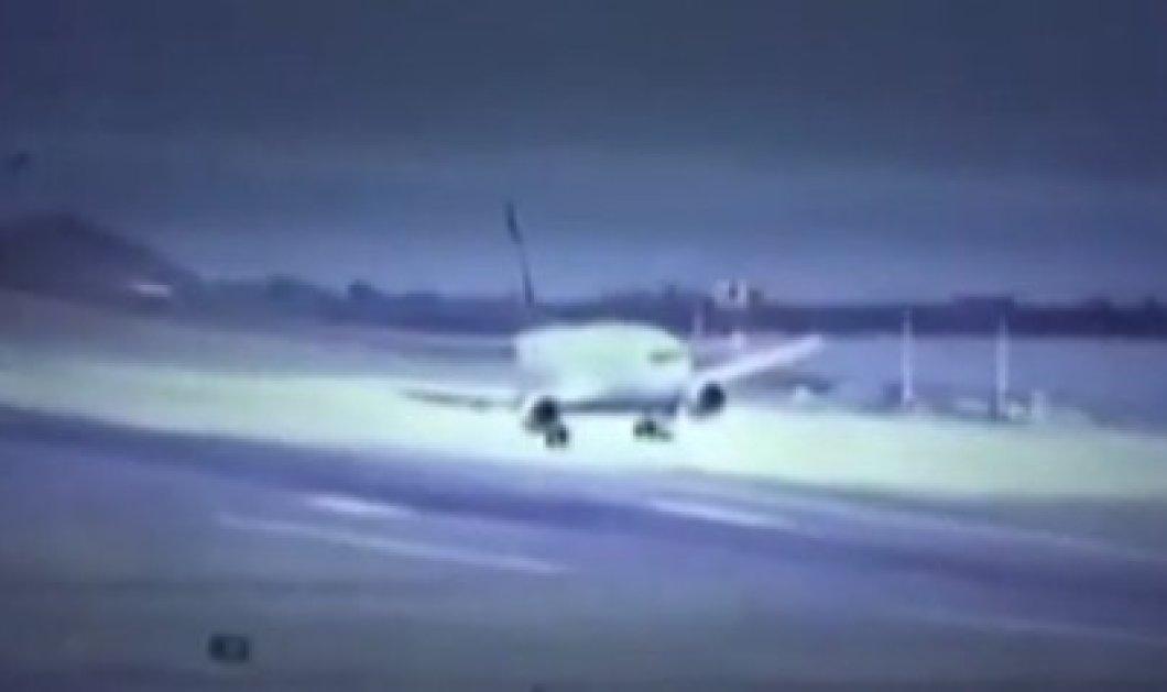 Τρόμος στον αέρα στην Τουρκία - Τρεις προσπάθειες για να προσγειωθεί αεροσκάφος λόγω ισχυρών ανέμων! (Βίντεο) - Κυρίως Φωτογραφία - Gallery - Video