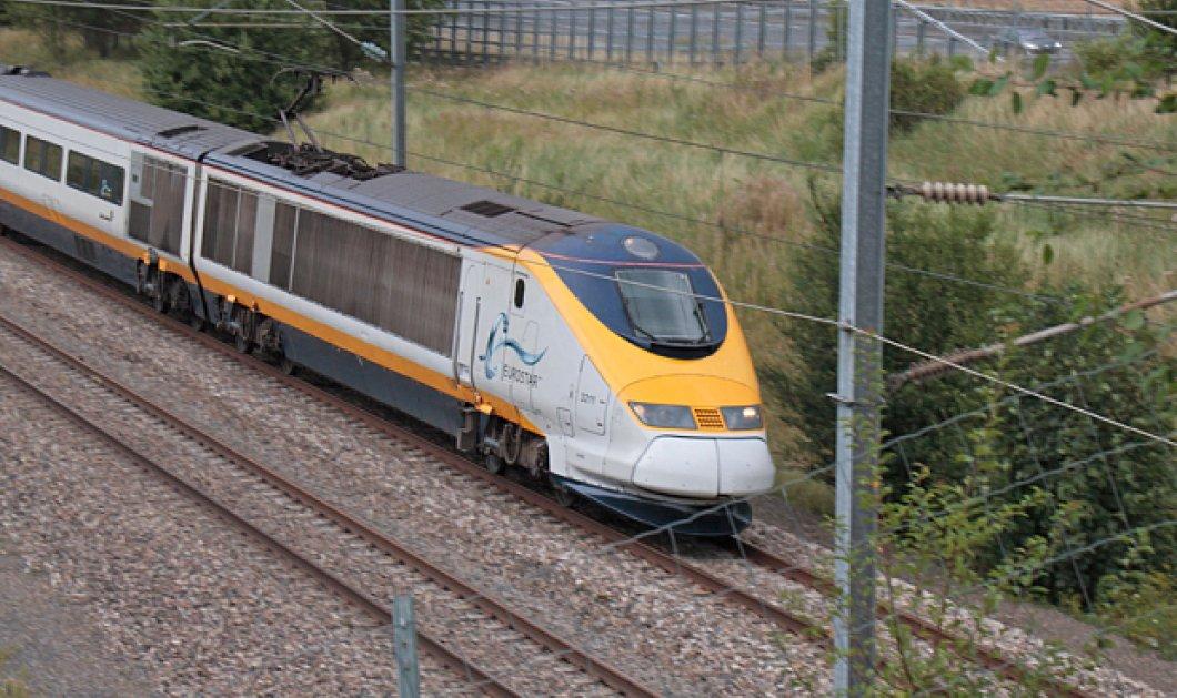 Τρόμος στο τραίνο: Εκατοντάδες επιβάτες εγκλωβίστηκαν για 5 ώρες στο σκοτάδι της Εurostar! (φωτό) - Κυρίως Φωτογραφία - Gallery - Video