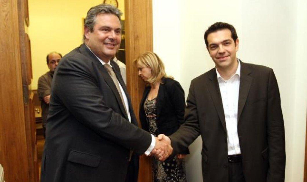 Τη συνεργασία του & τη στήριξή του στον ΣΥΡΙΖΑ προανήγγειλε ο Π. Καμμένος - Όλα όσα είπε στην ομιλία του στο συνέδριο των ΑΝ.ΕΛ. - Κυρίως Φωτογραφία - Gallery - Video