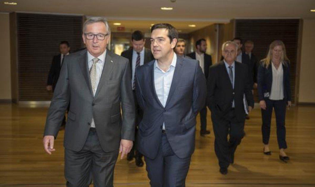 Koρυφώνεται η αγωνία στην ελληνική πολιτική σκηνή: Νέο τετ α τετ Τσίπρα - Γιούνκερ - Κυρίως Φωτογραφία - Gallery - Video