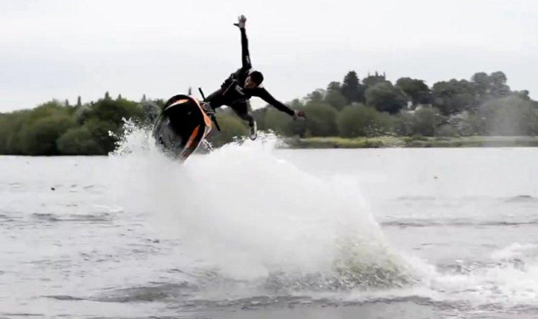 Απίθανο βίντεο: Τρελά κόλπα με Jet Ski που θα σας εντυπωσιάσουν - Κυρίως Φωτογραφία - Gallery - Video