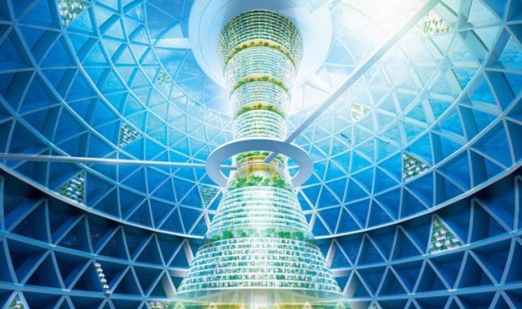 Οcean Spiral: Δείτε την πόλη του μέλλοντος - Θα είναι υποβρύχια σε απίστευτα φουτουριστικά σχέδια Ιαπωνέζων αρχιτεκτόνων! (φωτό) - Κυρίως Φωτογραφία - Gallery - Video
