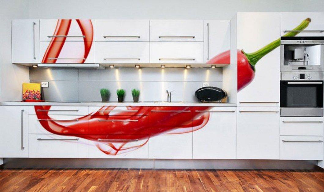 17 ταπετσαρίες για να απογειώσετε τον βαρετό τοίχο της κουζίνας - 17 ιδέες για να αλλάξετε ριζικά την ατμόσφαιρα του πιο πρόχειρου αλλά και πιό πολυσύχναστου σημείου του σπιτιού! (φωτό)  - Κυρίως Φωτογραφία - Gallery - Video